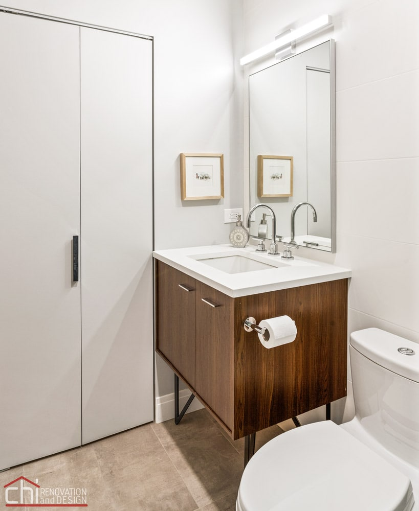 CHI | Chicago Powder Room Remodel