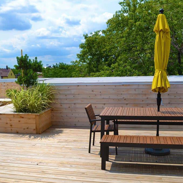 Chicago Rooftop Deck Remodel