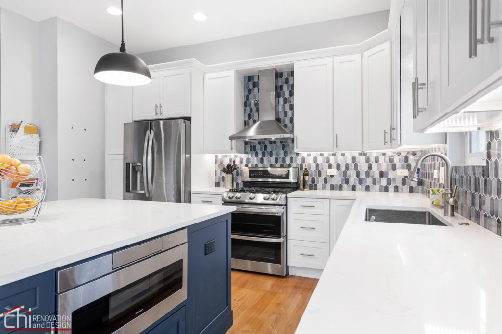 Chicago Sleek Modern Kitchen Builders