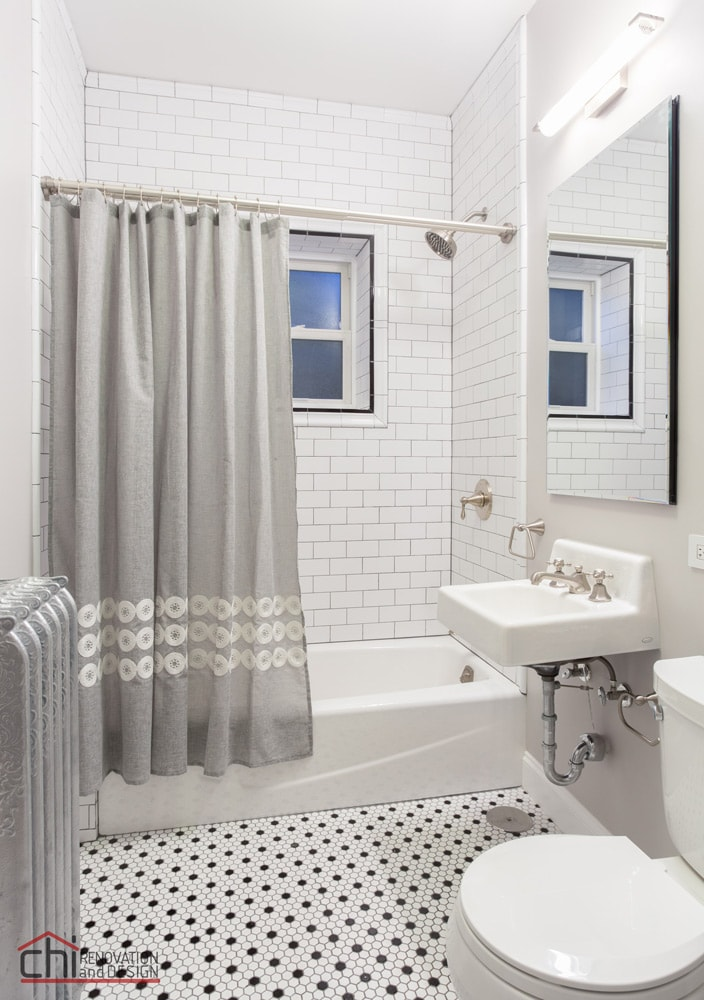 Chicago Vintage Bathroom Remodel