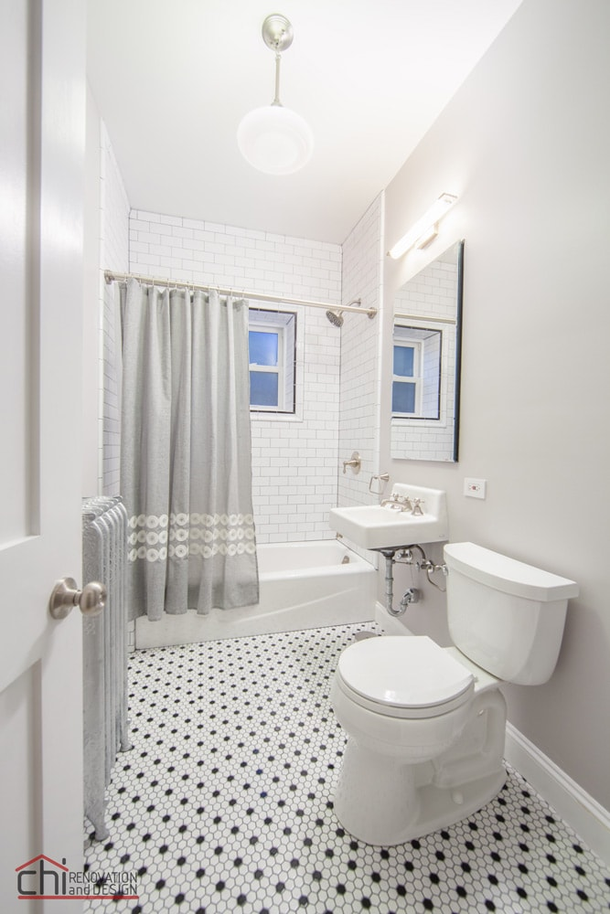 Chicago Vintage Bathroom Renovation