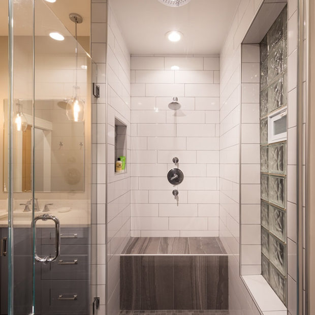 Chicago West Town Bathroom Remodel