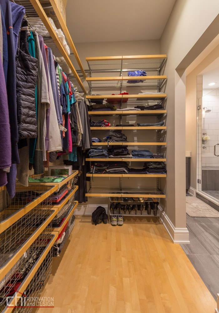 Chicago West Town Closet Remodel