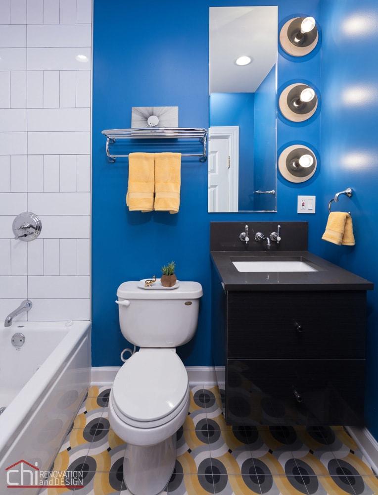 Chicago Wicker Park Guest Bathroom Renovation