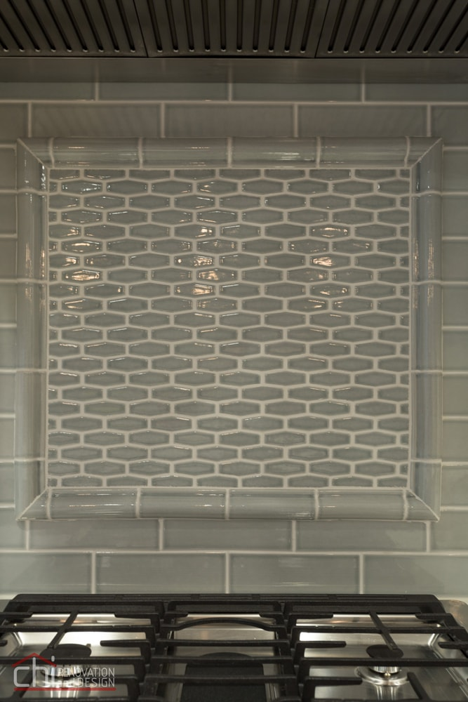 Contemporary Kitchen Backsplash Design Chicago