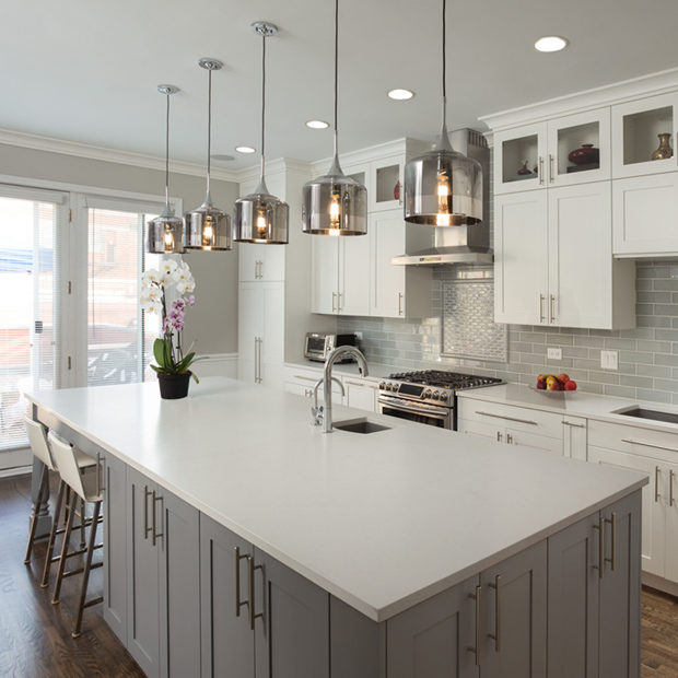 Contemporary Kitchen Remodel Chicago