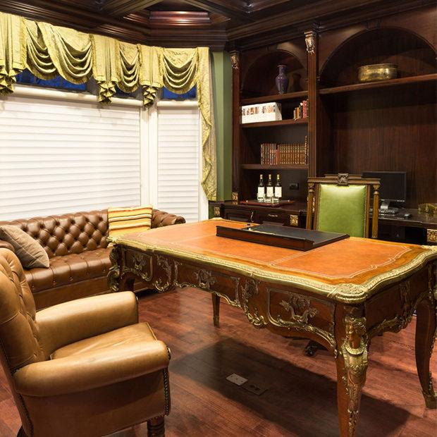 Custom Woodwork Office And Closet Design