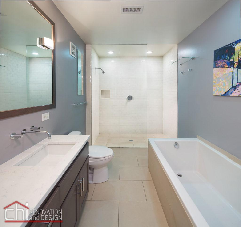 Downtown Condo Master Bathroom Renovation
