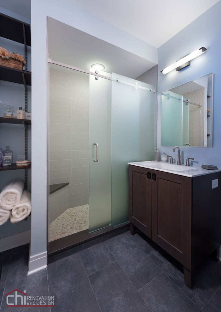 Evanston Ensuite Shower Remodel