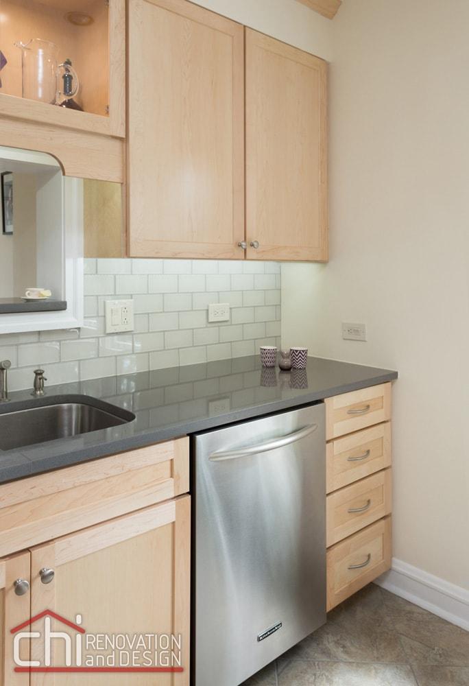 Evanston Kitchen Backsplash Remodel