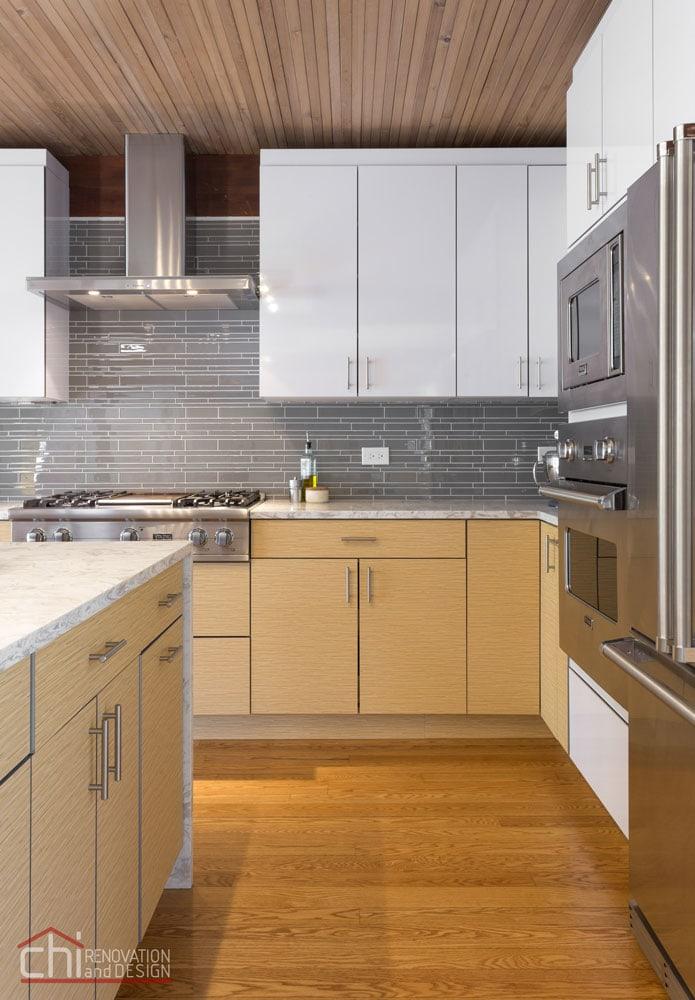 Evanston Kitchen Cabinets Remodel