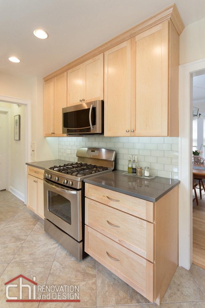 Evanston Kitchen Countertop Remodel