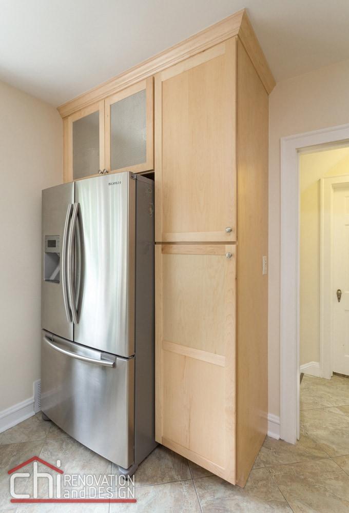Evanston Kitchen Custom Cabinet Remodel