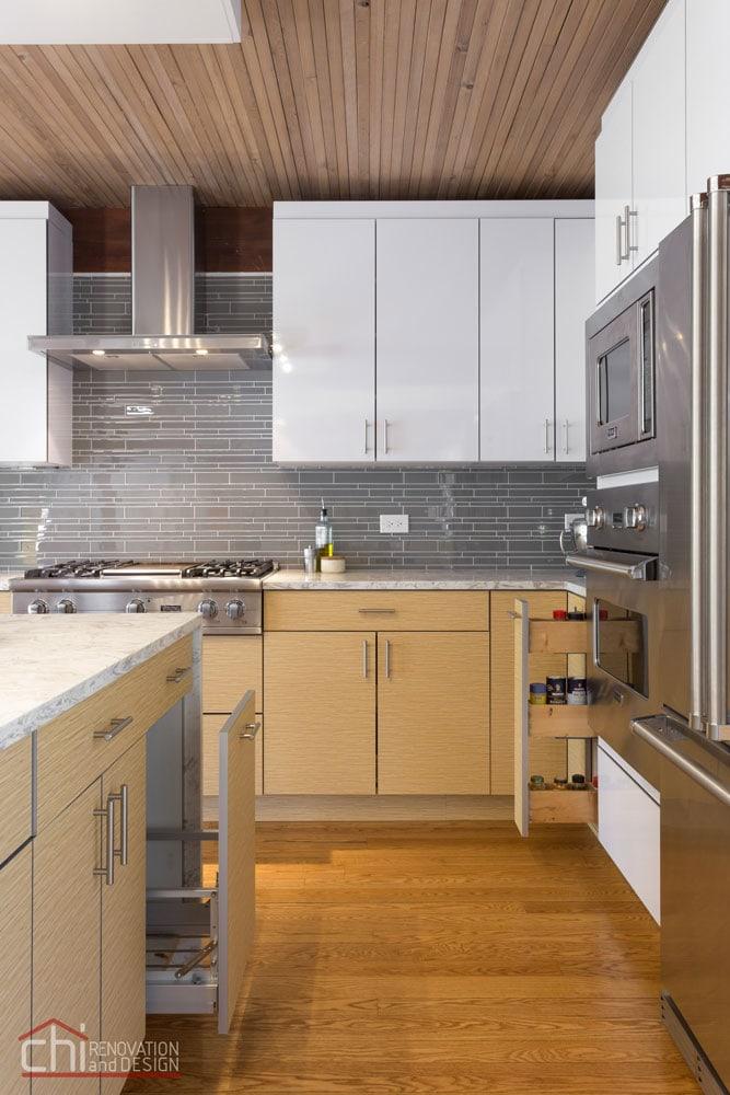 Evanston Kitchen Custom Cabinets Remodel