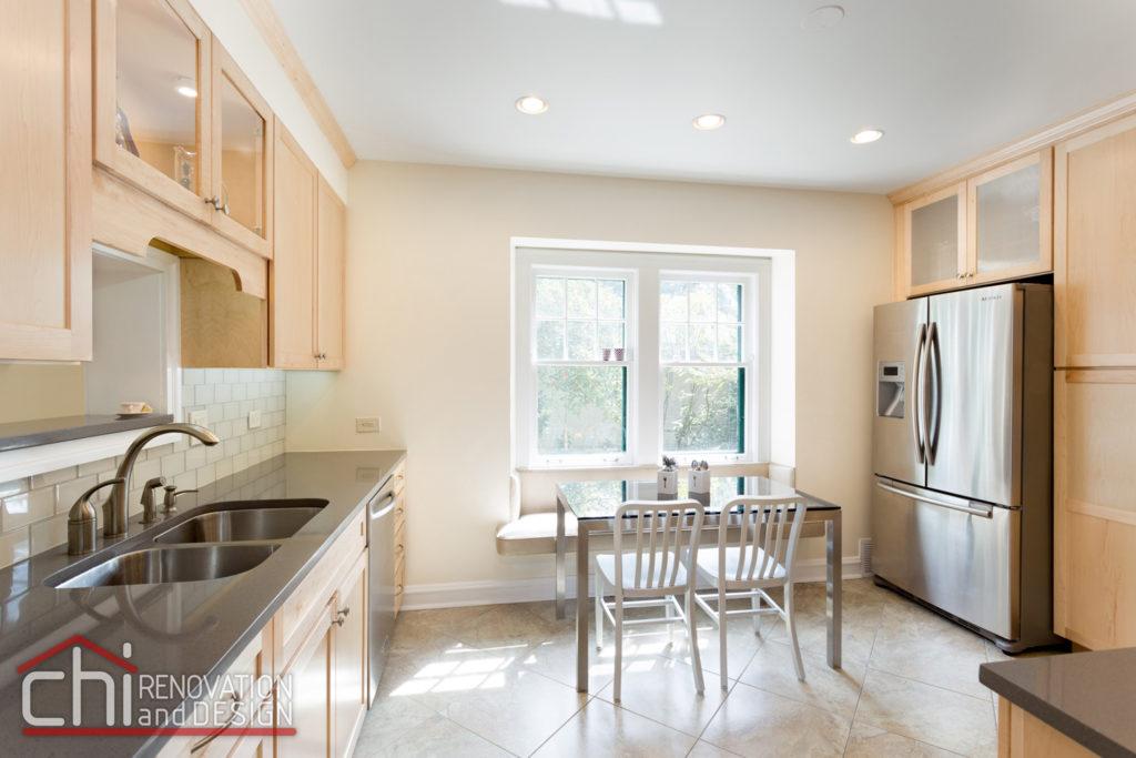 Evanston Kitchen Interior Remodel