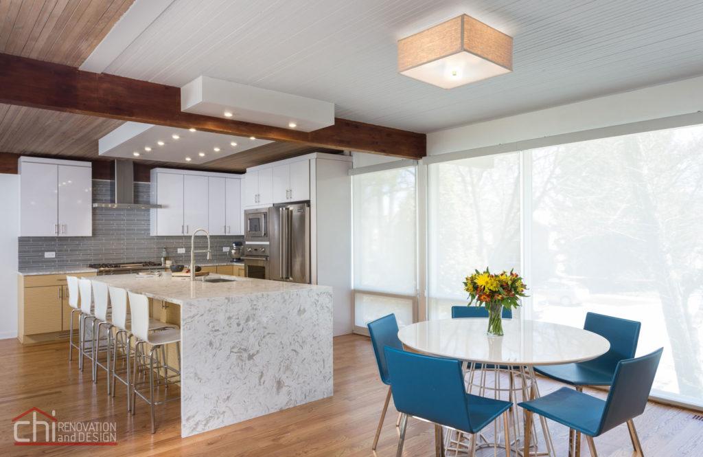 Evanston Kitchen Interior Remodeling