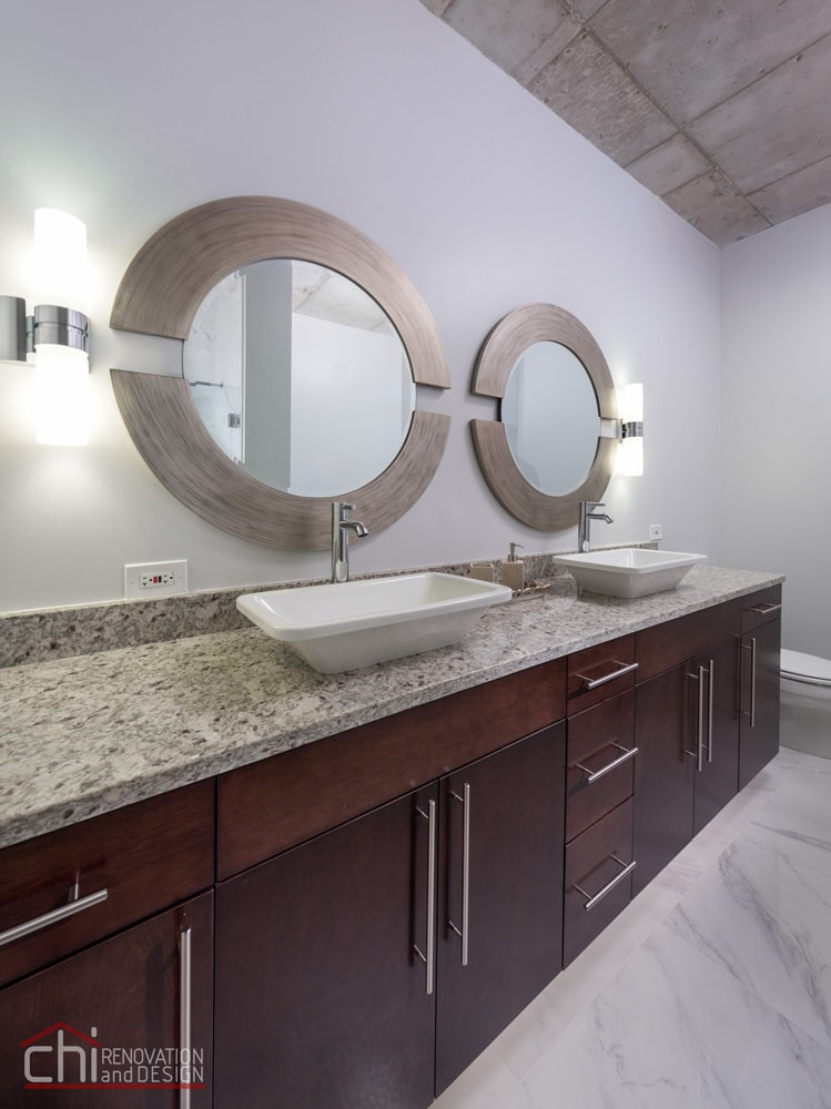 Evanston Loft Bathroom General Contractors
