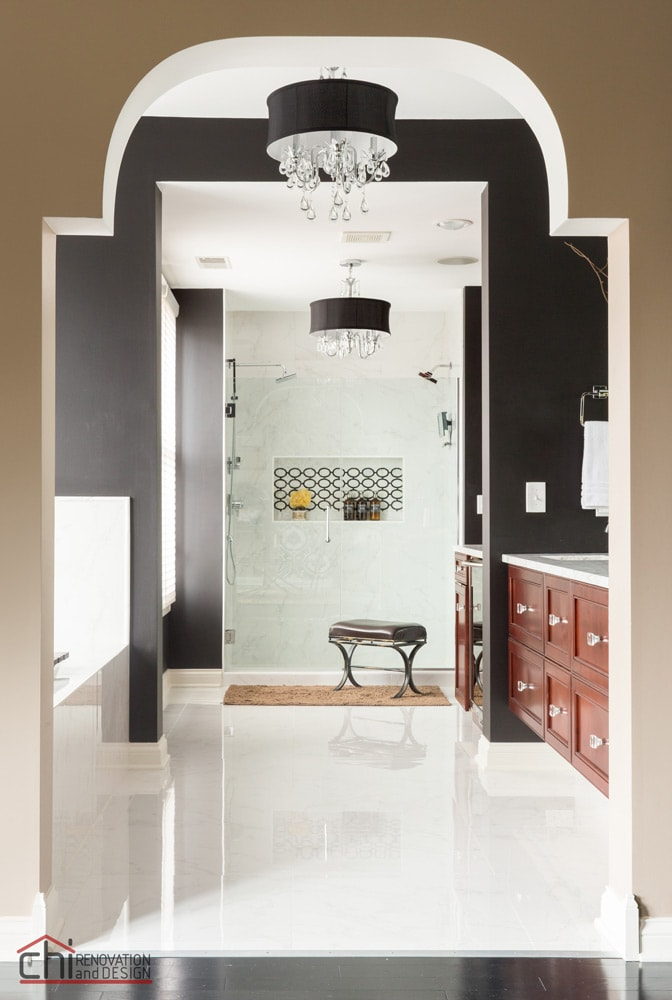 Glenview Master Bathroom Interior Renovation