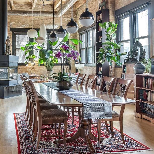 Globally Inspired Timber Loft Remodeling