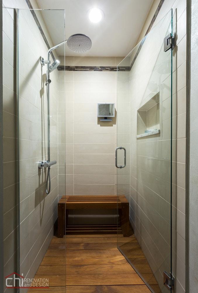 Gold Coast Master Bath Shower Remodel