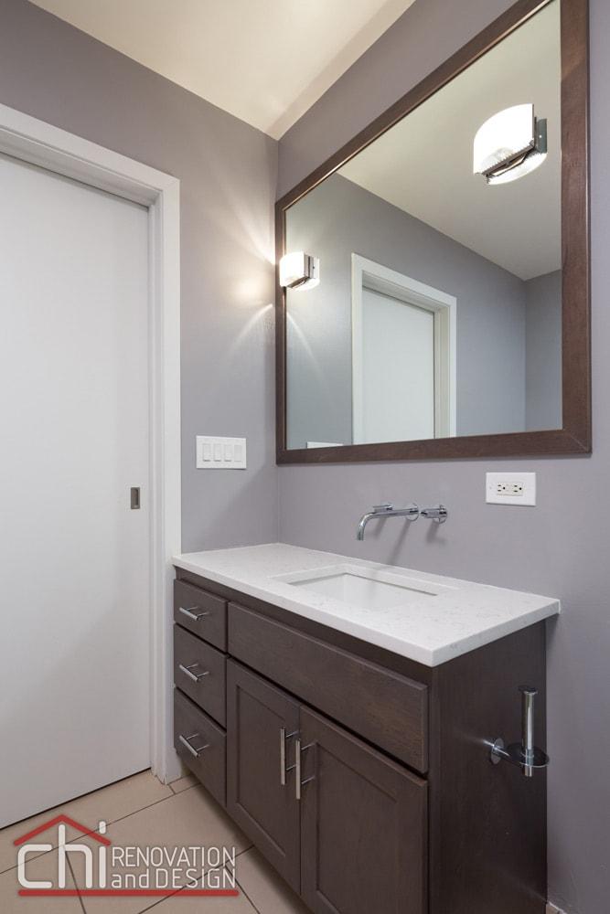 Illinois Downtown Condo Bathroom Remodel