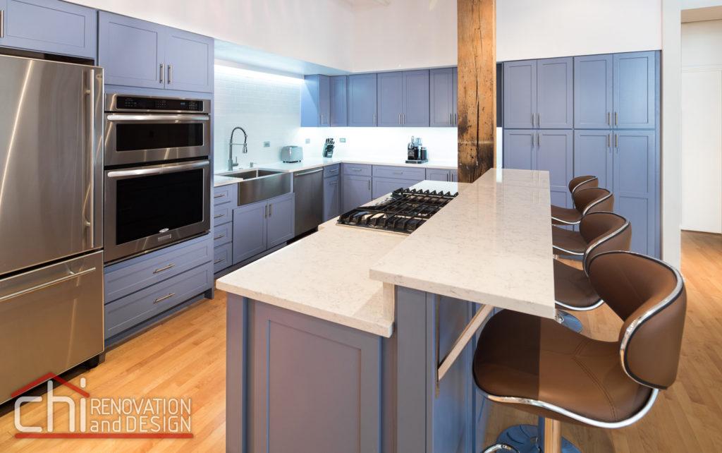 Illinois Downtown Condo Kitchen Remodelers