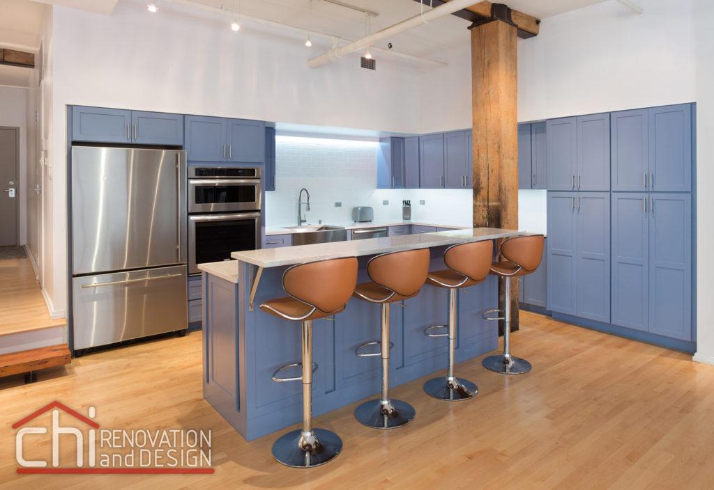 Illinois Downtown Condo Kitchen Remodeling