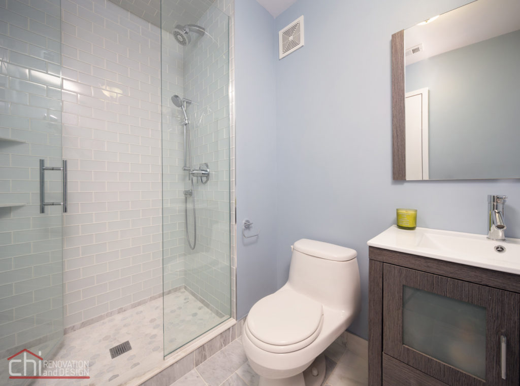 Illinois Downtown Condo Shower Remodelers