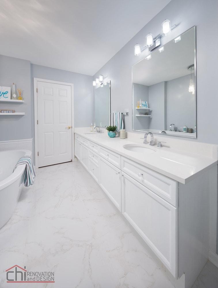 Joans Bathroom Flooring Remodel