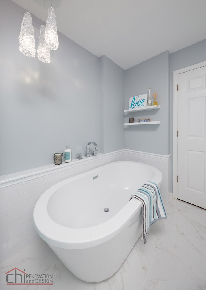 Joans Bathroom Lincoln Park Remodel