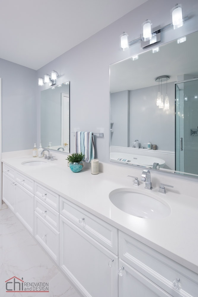 Joans Bathroom Sink Countertop Remodel