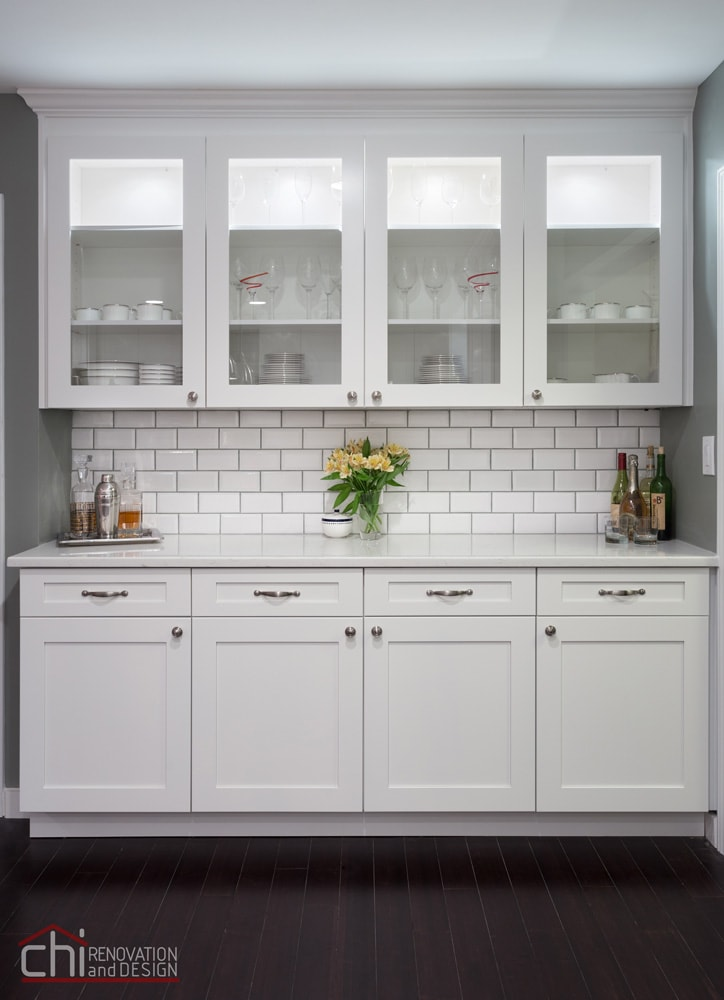 Lake Bluff Kitchen Cabinet Remodel