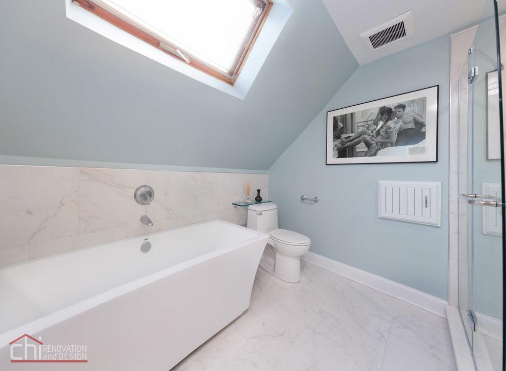 Lakeview Master Bathroom General Contractors
