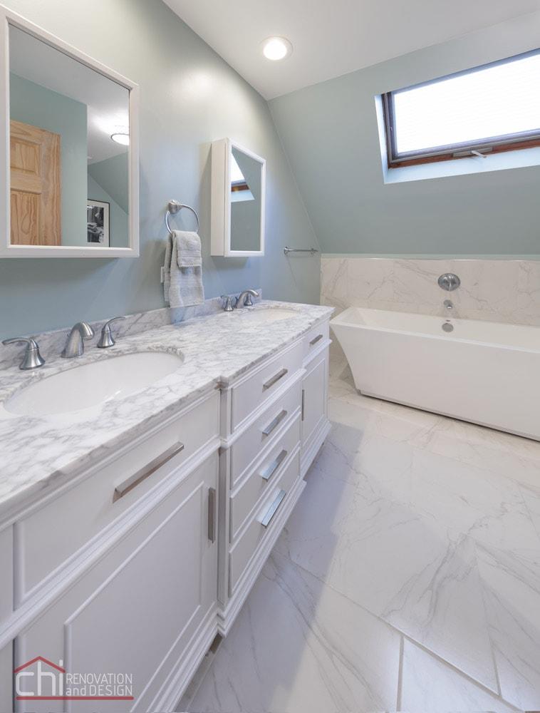 Lakeview Master Bathroom Sink Remodel