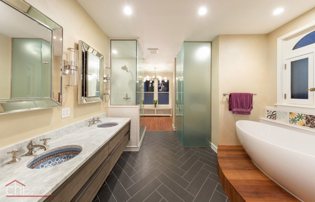 Lincoln Park Bathroom Interior Renovation