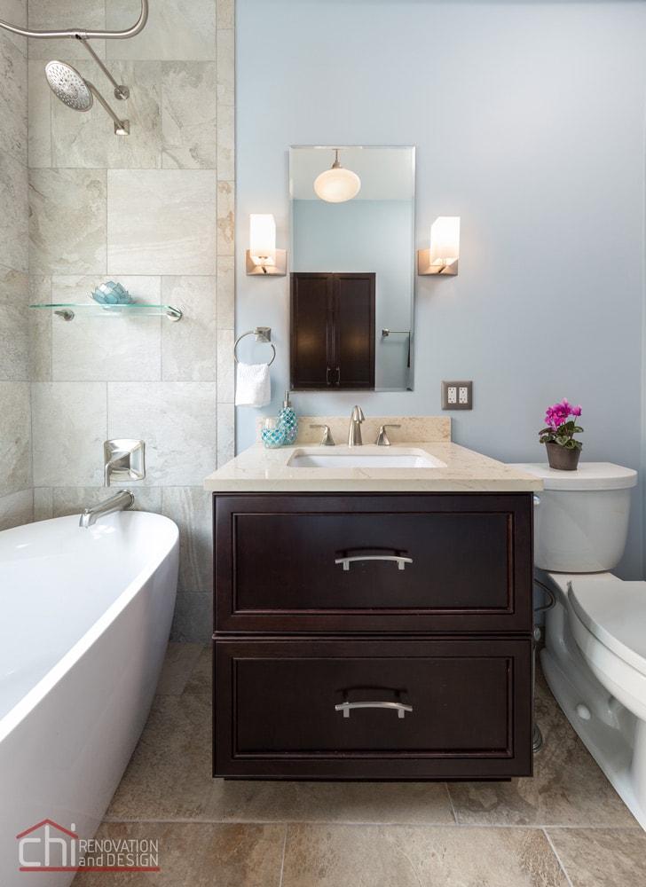 Lincoln Park Bathroom Vanity Remodel