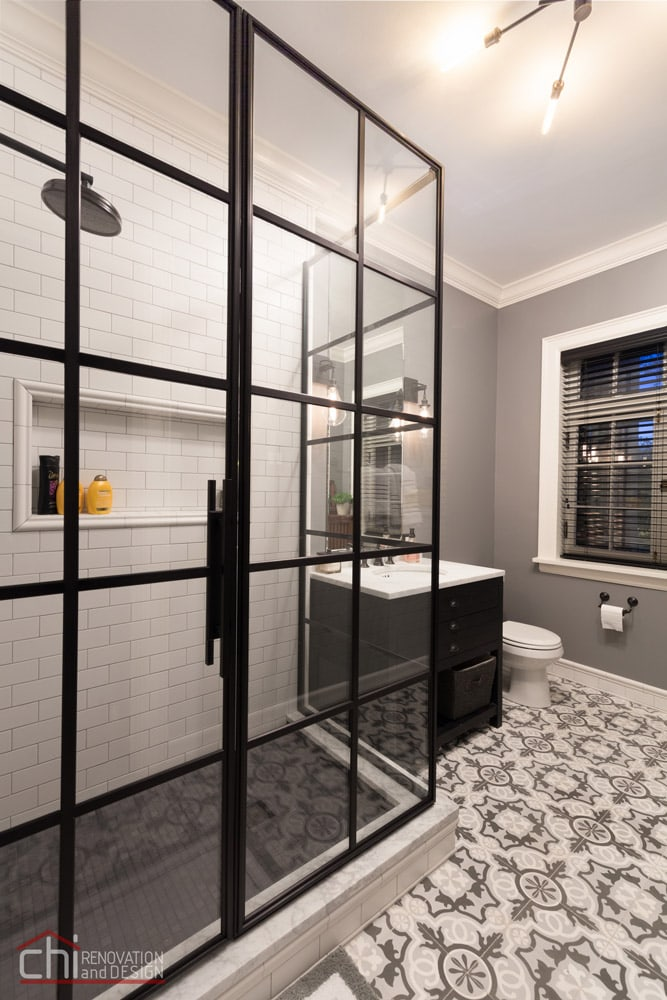 Lincoln Park Guest Bathroom Renovation