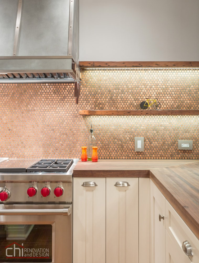 Lincoln Park Kitchen Backsplash Remodel