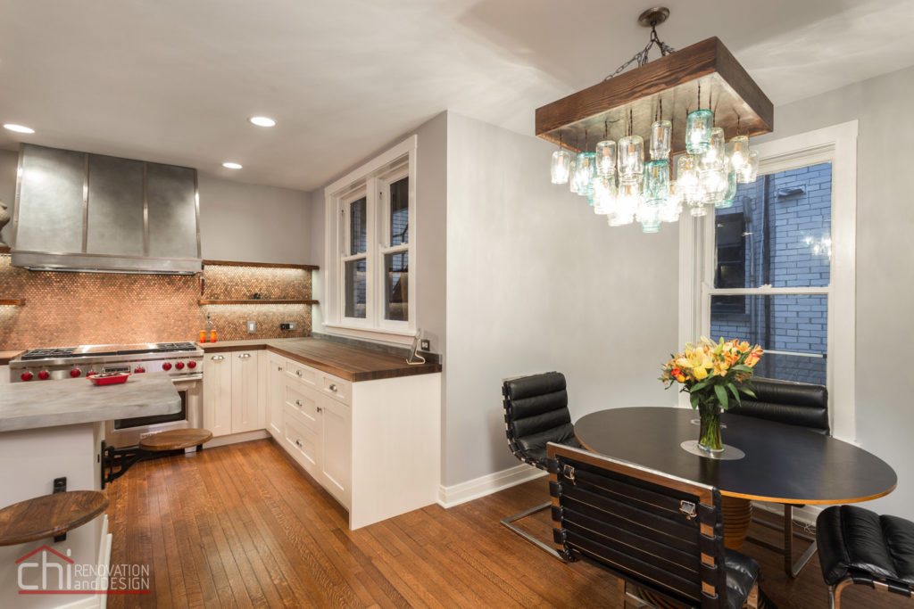 Lincoln Park Kitchen Dining Renovation