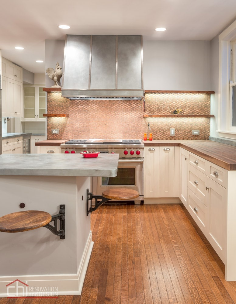 Lincoln Park Kitchen Interior Remodel