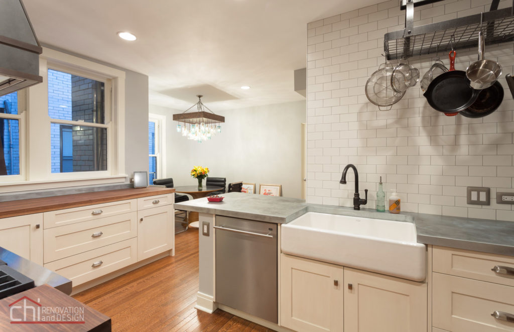 Lincoln Park Kitchen Sink Remodel
