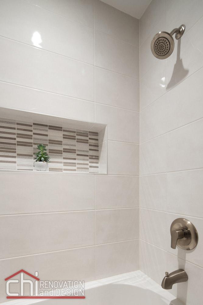 Lincoln Park Shower Faucet Remodel