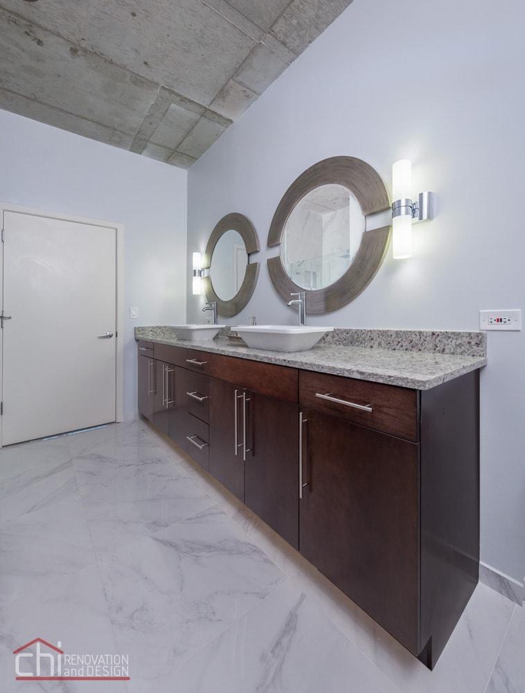 Loft Bathroom Vanity Remodel