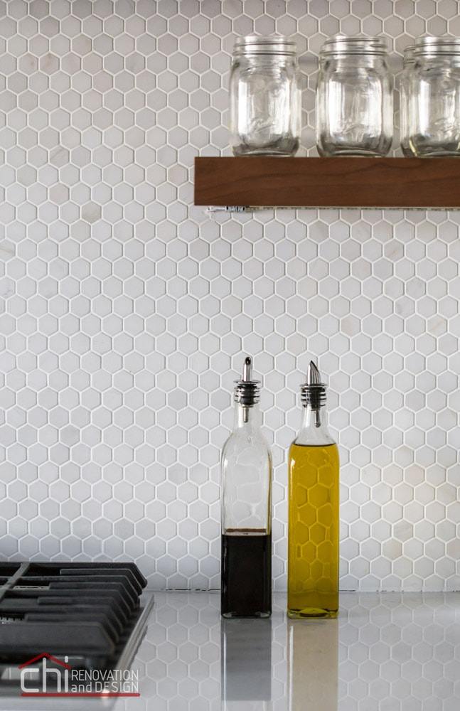 Luxury Chicago Kitchen Backsplash Design