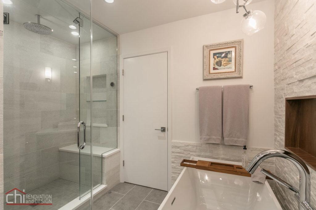 Luxury Mid Century Bathroom Renovation