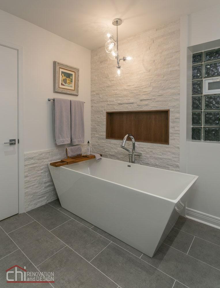 Luxury Mid Century Modern Bath Tub Design
