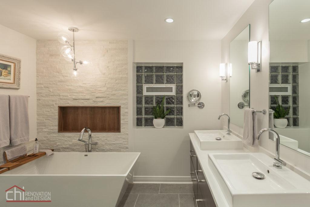 Luxury Mid Century Modern Bathroom Remodeling