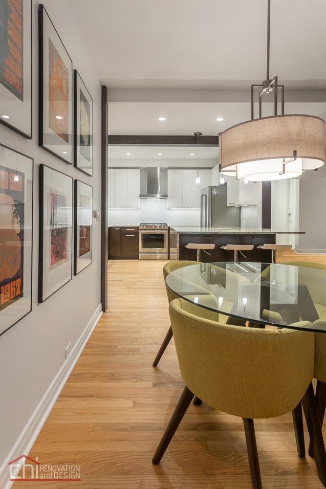 Luxury Mid Century Modern Chicago Renovation
