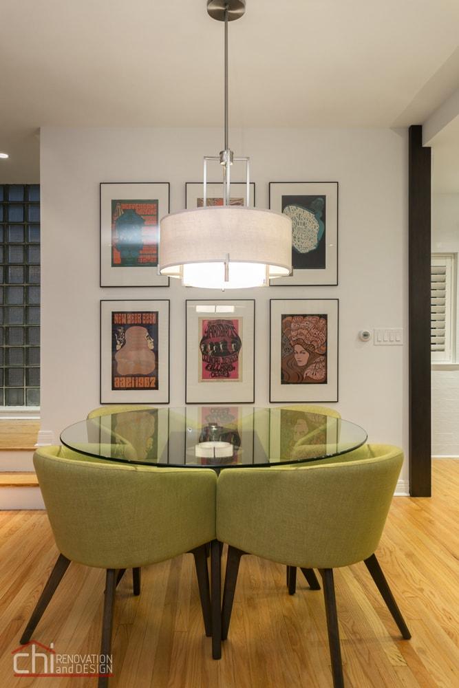 Luxury Mid Century Modern Dining Room Renovation