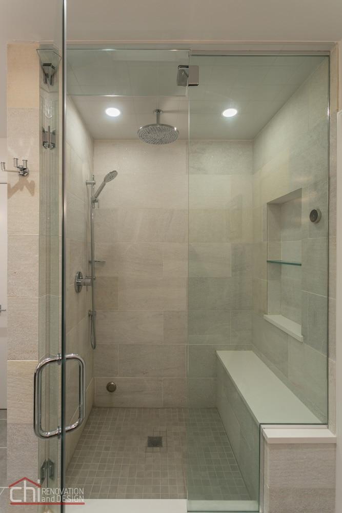 Luxury Mid Century Shower Renovation